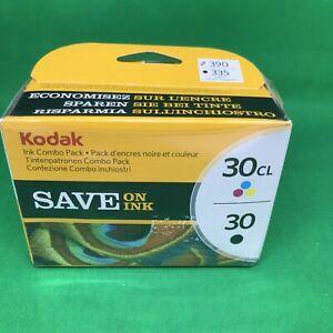 Kodak 30B 30C Inkjet Cartridge Combo Pack - Black and Colour 8039745 New Sealed
