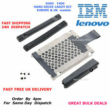 HDD Hard Drive Cover Caddy Rails For IBM/LENOVO Thinkpad T400 R400.EU + UK. KIT