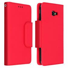 Funda monedero y carcasa extraíble Samsung Galaxy J4 Plus - Rojo