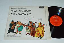 LUC ET LISE COUSINEAU Tout Le Monde Est Heureux?! LP 1971 Polydor Quebec Folk