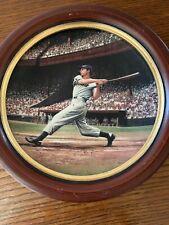 "Joe DiMaggio ""The Streak"" Collector Plate"