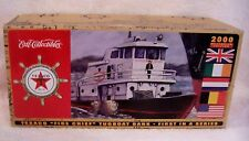 """2000 TEXACO """"FIRE CHIEF"""" TUGBOAT BANK DIECAST FIRST IN SERIES EUROPEAN EDITION"""