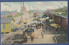 Pennsylvania, PA, North East, Grape Shipping railway train Station old postcard