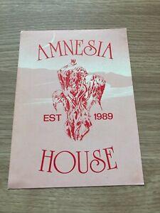 Amnesia House - Northampton - 1991 Rave Flyer / Acid House / Club - DJ SS, SY