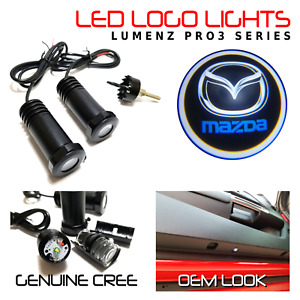 Lumenz LED Courtesy Logo Lights Ghost Shadow for Mazda 100550