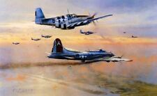 ROBERT TAYLOR Bringing Peacemaker Home 91st Bomb Group B-17 Bomber AP SOLD OUT!