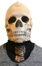 Adult size Faux Real Skeleton Mask - Costume Accessory fnt