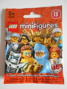 Packet with leaflet for Lego Series 15 Minifigures