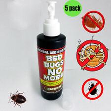 5 Bed Bugs No More Control Natural Killer 8oz Pump Spray Bedbug Insect