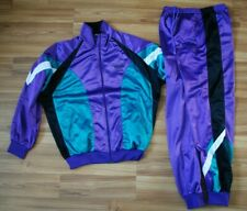 ADIDAS RETRO FULL TRACK SUIT JACKET TOP and PANTS SIZE MENS MEDIUM DEADSTOCK