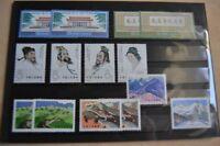 CHINA - Umfangreiche Sammlung auf mehreren Steckseiten ungebraucht/gestempelt