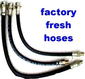 3 Brake hoses For Buick 1942 -1947 1948 1949 -for your brake job,save