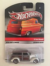 HOT WHEELS 2010 SWEET RIDES DELIVERY 37 FORD WOODIE HERSHEY 1/64 SCALE