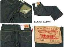 LEVIS 569 -0092 DAY RUN LOOSE STRAIGHT MENS 29 X 32 DARK BLUE JEANS #816