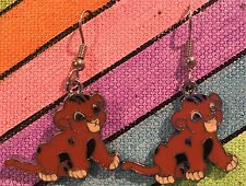 SIMBA Earrings Disney Lion King Surgical New I just can't wait to be King