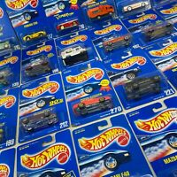 1990's Hot Wheels Blue Card YOU PICK - Vintage Collectible Toys