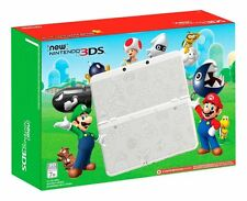 New Nintendo 3ds Super Mario White Gaming System Black Friday Limited Edition