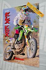 KAWASAKI ENDURO KLX 250/R 650R KDX 200-250 Brochure pub fiche moto motorcycles