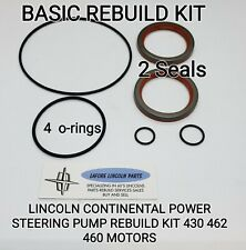 1960 - 1969 LINCOLN CONTINENTAL POWER STEERING BASIC REBUILD KIT 430 460 462