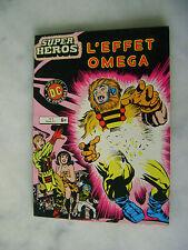 Super héros n° 8 - L'effet omega - Aredit