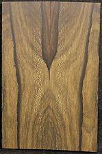 Ziricote x Knife Scales x Cut Slab x Rare x With Mostly Landscape Figured ZIKS19