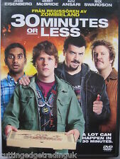 30 Minutes or Less (DVD, 2012) NEW SEALED (Nordic Packaging) PAL