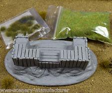 Campo de batalla BDP3 Kit De Madera posición defensiva Bunker-Warhammer 40k R8
