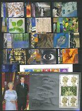 GB GREAT BRITAIN 2000 COMPLETE YEAR SETS U/M/MINT INC 3x MINI/SHEETS.