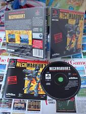 Playstation PS1:Mechwarrior 2 [TOP & 1ERE EDITION] COMPLET - Fr