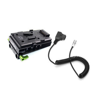 Lanparte VBP-01 V-mount Battery Pinch & D-tap Power Supply Cable For BMPCC 4K 6K