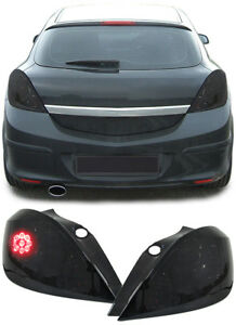 ALL SMOKED LED TAIL LIGHTS FOR OPEL ASTRA H 5 DOOR HATCHBACK NICE CHRISTMAS GIFT