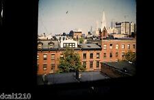 Original 3D Stereo Realist Slide NEW YORK CITY #88 ROOFTOPS & SKYLINE