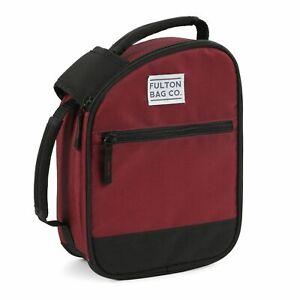Fulton Bag Co. Lunch Bag (Red)