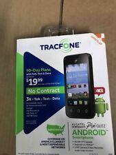 Tracfone Alcatel Onetouch Pixi Glitz 4G Android Smartphone