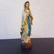 Madonna von Lourdes Statue Deko Figur Mutter Gottes Heilige Maria Heiligenfigur