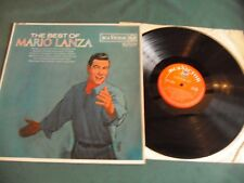 MARIO LANZA LP LOT OF 2 - THE BEST OF MARIO LANZA/YOU DO SOMETHING TO ME