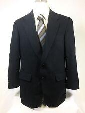 Christian St John Mens Navy Blue Cashmere Sport Coat Jacket Blazer 2 Button