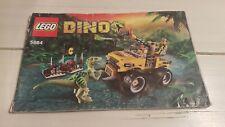 LEGO 5884 - JAGD AUF DEN RAPTOR - / INSTRUCTION MANUAL - ANLEITUNG