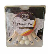 STIGA Master Series Premium 4-Player Set Ping Pong Table Tennis Brand New!