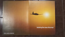 "Original ""Building the New Mooney"" Sales Brochure, 12 Page, 8.5 x 11"""