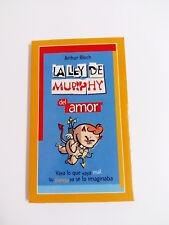 LOI DE MURPHY DE LA AMOUR Arthur Bloch 2002