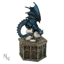 DRAGON ROOST OF CRYONDRIX, NEMESIS NOW STATUE FIGURINE BOX  D1981