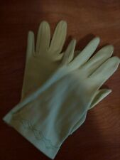 Vintage/Antique Fownes Gloves Zippy Green With Original Tag