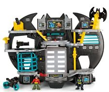 Batcave Batman Cave with Imaginext Figures Interactive with iPhone App