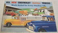 Chevrolet 1955 Pickup Cameo Panel Trucks School Bus Sales Brochure Original