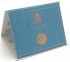 """2 euro commémorative Vatican 2012 """"7 ème Rencontre mondial des familles"""""""