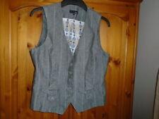 V Neck Striped NEXT Waistcoats for Women