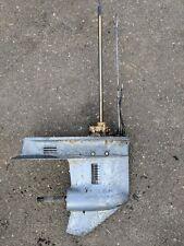 "Yamaha 40 50 HP Lower Unit Gearcase 20"" 3 cylinder 1980's"