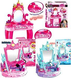 PRINCESS  Dressing Table Stool Playset Toy Vanity Light,music Beautifull GIFT