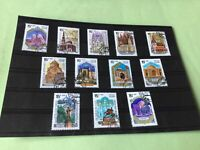 Russia buildings  stamps   Ref 53192